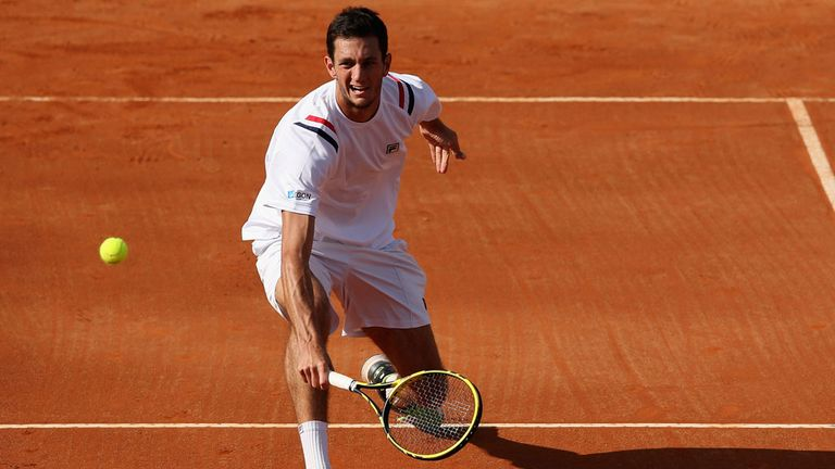 James Ward: Lives to fight another qualifying round at Roland Garros