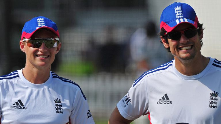 Pass the baton: could Alastair Cook be involved with aiding a future England captain