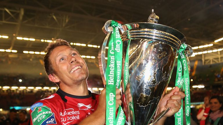 Jonny Wilkinson after the Heineken Cup win over Saracens