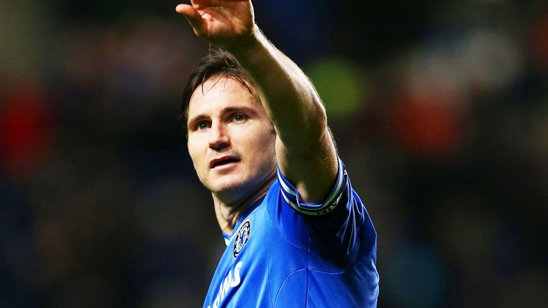 Frank Lampard: Out of contract after 13 years at Chelsea