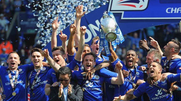 Leicester City will be in the Premier League next season after winning the Championship