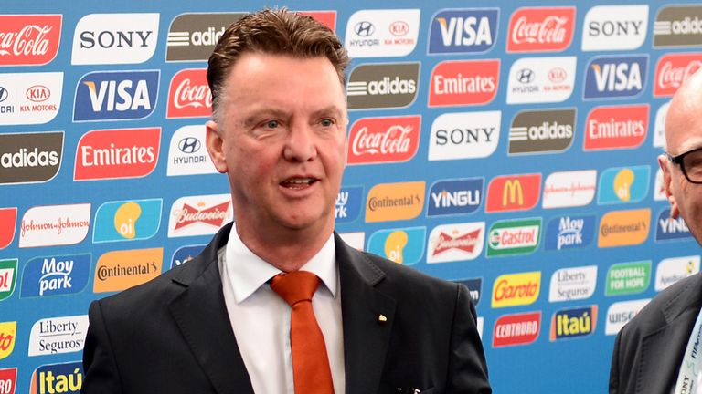 Louis Van Gaal: Holland coach has hinted that it is not just Manchester United who are interested in him