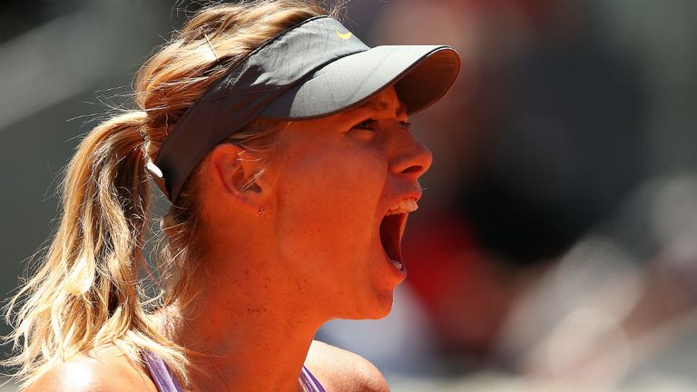 Maria Sharapova: Battled hard to come through against Li Na in Madrid