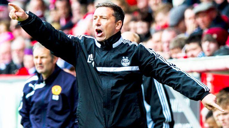 Derek McInnes: Aberdeen boss was upset Motherwell's goal was allowed to stand