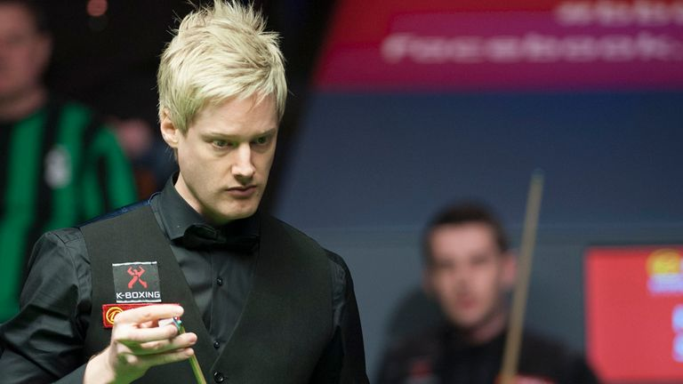 Neil Robertson: a break of 89 in the seventh frame
