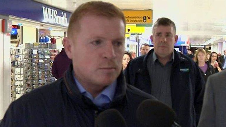 Neil Lennon: In no rush to return to management after leaving Celtic