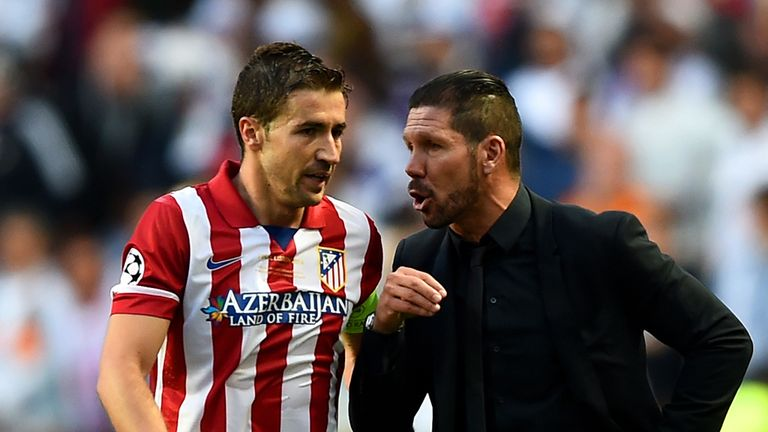 Gabi: Atletico Madrid captain has signed until 2017