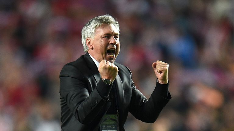 Carlo Ancelotti: Expects an exciting future for Real Madrid