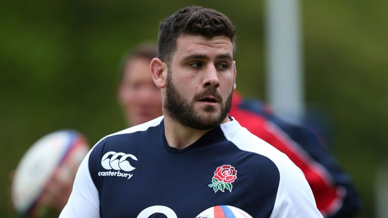 Rob Webber: Bath hooker added to England training squad