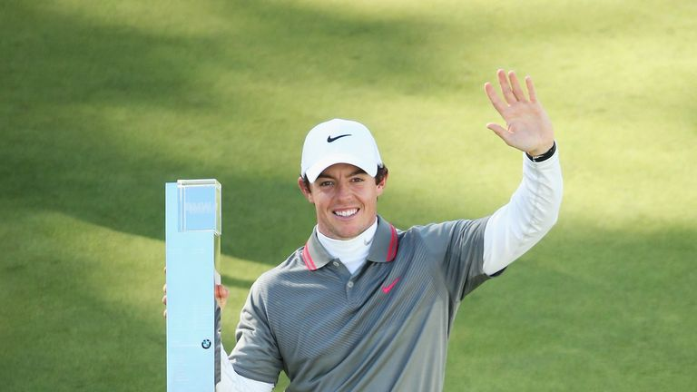 Rory McIlroy: came home in five-under 32 at Wentworth