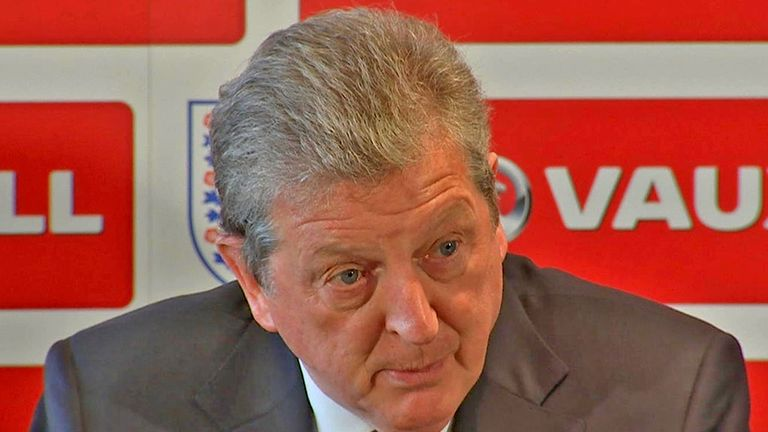 Roy Hodgson: England boss has named his 23-man World Cup squad