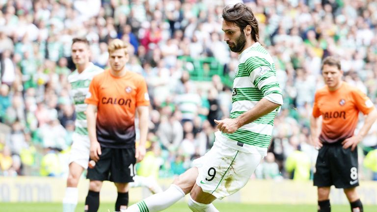 Georgios Samaras: Poised to leave Celtic this summer