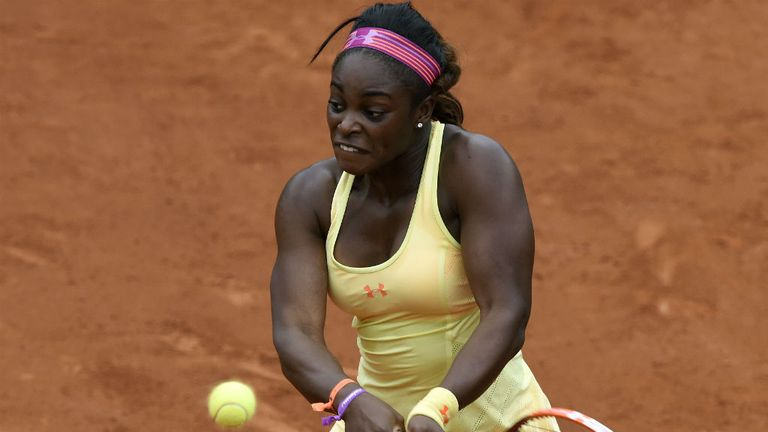 Sloane Stephens: The No 2 ranked American raced into the third round