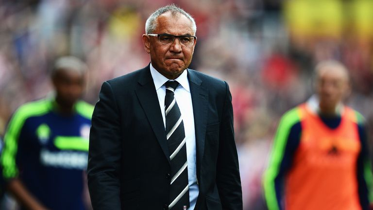 Felix Magath: Hoping to continue at Fulham