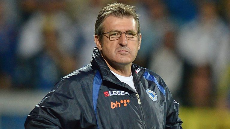 Safet Susic: Has made history during spell as Bosnia boss