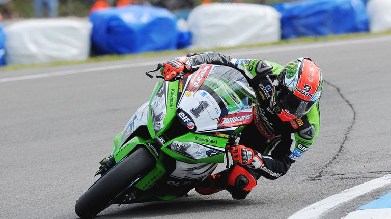 Tom Sykes: Took double victory at his home event at Donington Park