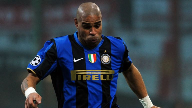 Adriano: Looking to recapture the glory days of his time at Inter Milan