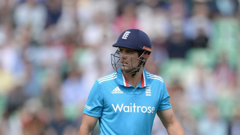 Alastair Cook: Groin injury sidelines England captain