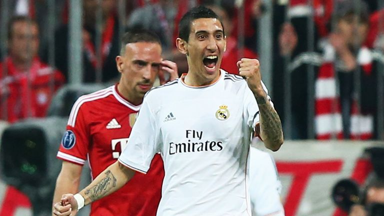 Angel Di Maria: Has no intention of leaving Real Madrid