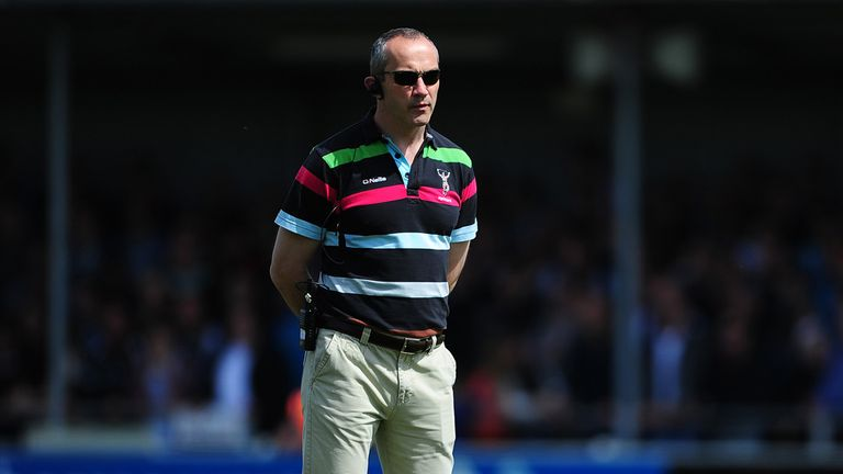 Conor O'Shea: winner-takes-all against Bath