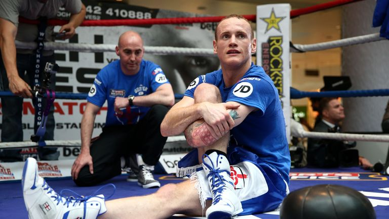 George Groves: Claims preparations have been perfect