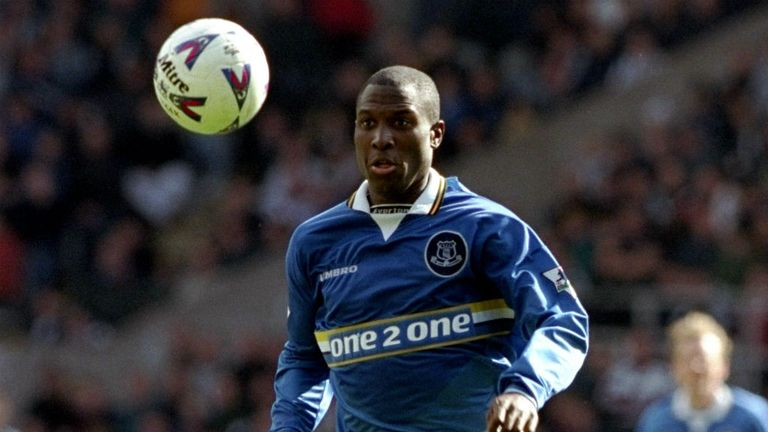 Kevin Campbell played 137 times for Everton