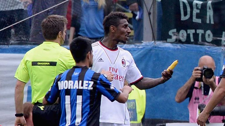 Kevin Constant: Milan defender involved in banana incident