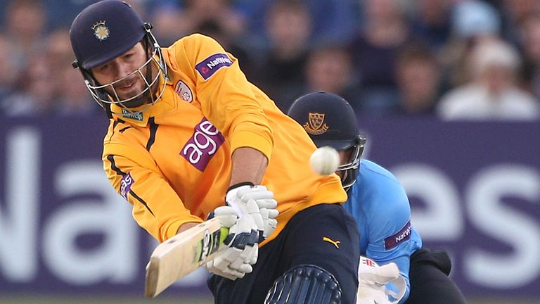 James Vince: Top runscorer in the T20 Blast