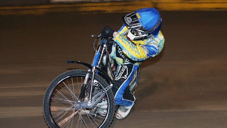 Lewis Blackbird Eastbourne Eagles speedway (picture credit Mike Hinves 2013)