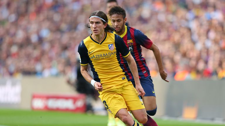 Filipe Luis: Atletico Madrid left-back not planning to move