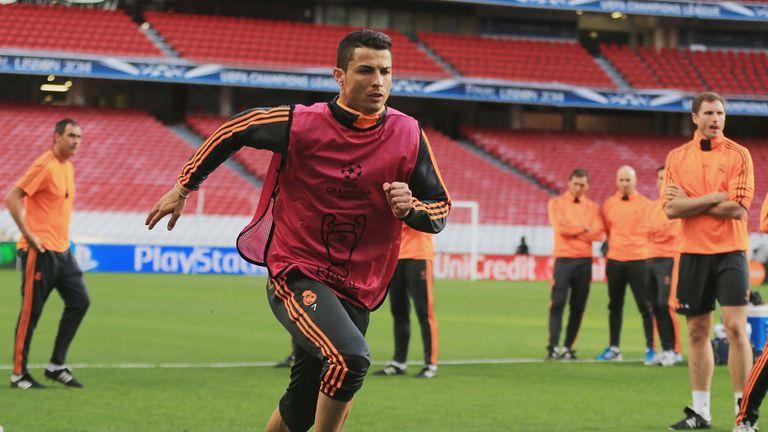 Cristiano Ronaldo: Trained at the Estadio da Luz