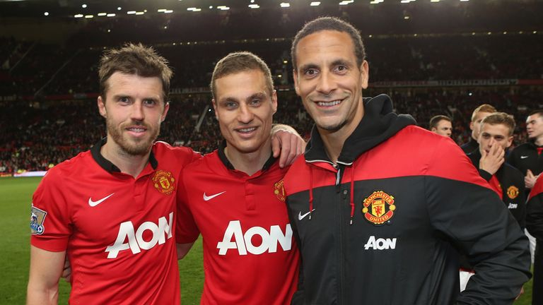 Michael Carrick: Having to say goodbye to two old team-mates