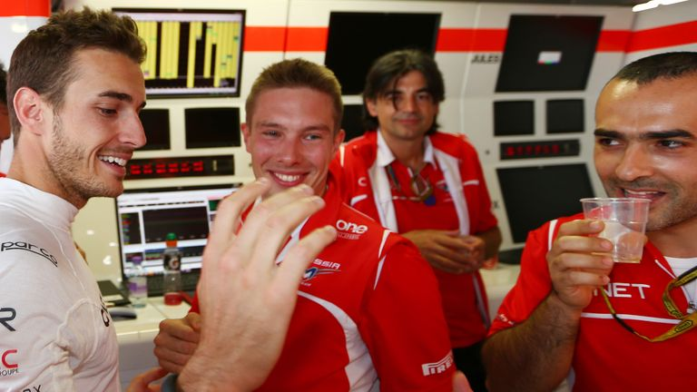 Jules Bianchi: A big result for him and the team