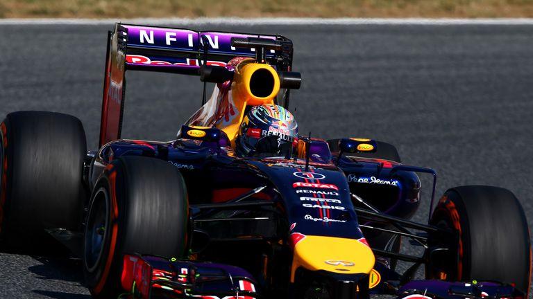 Sebastian Vettel: Wing problem in practice