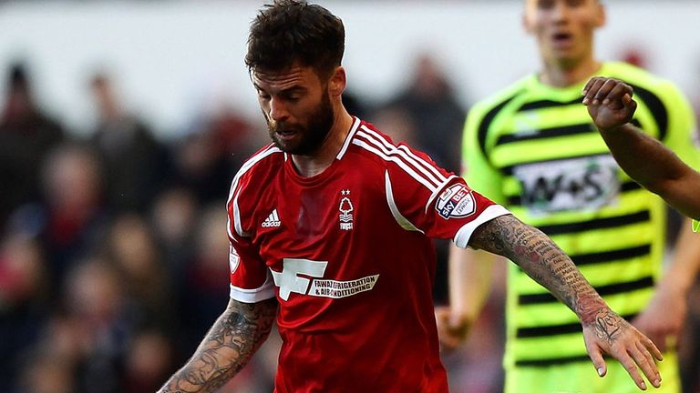 Danny Fox: 15 starts for Forest since January