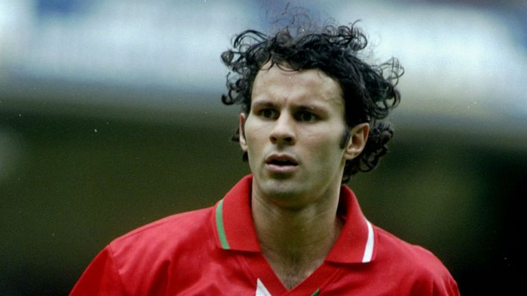Giggs  played 64 times for Wales and is now a candidate for the manager's job