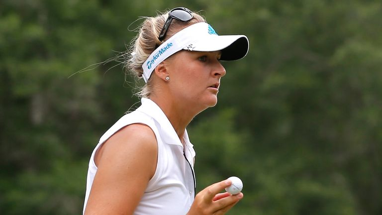 New leader: Anna Nordqvist has a one-shot load going into the final round
