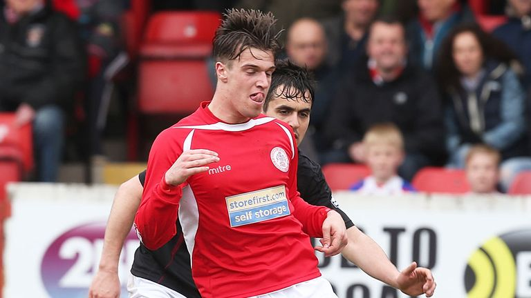 James Gray: Scored seven goals for Accrington last season