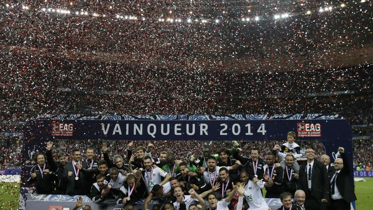 Guingamp: Celebrate their Coupe de France win over Rennes
