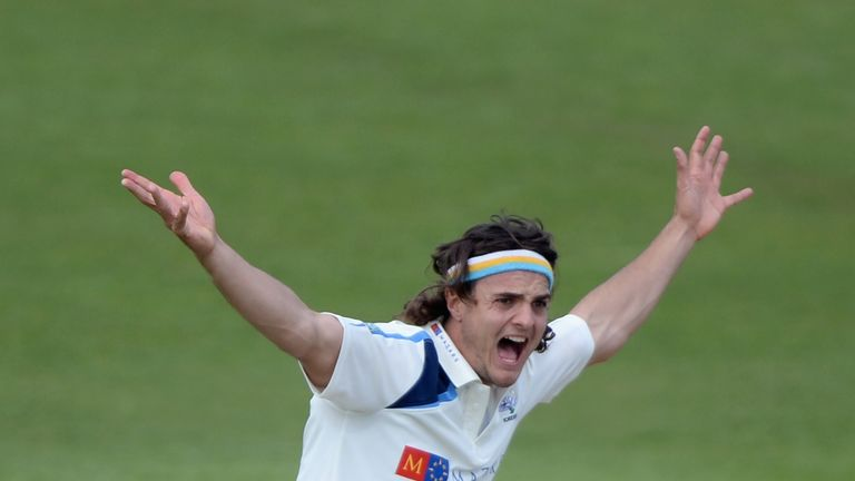 Jack Brooks: Yorkshire seamer in the wickets at Headingley