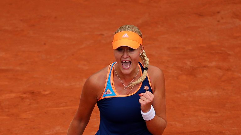 Kristina Mladenovic: Former French Open junior title shocked Li Na in Paris