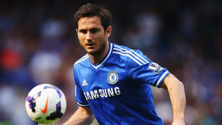 Frank Lampard: Uncertainty surrounds the midfielder's future