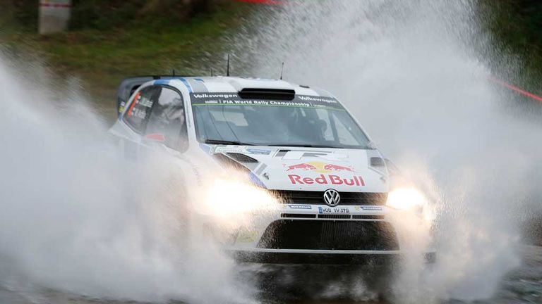 Jari Matti Latvala: Leader after day one in Argentina