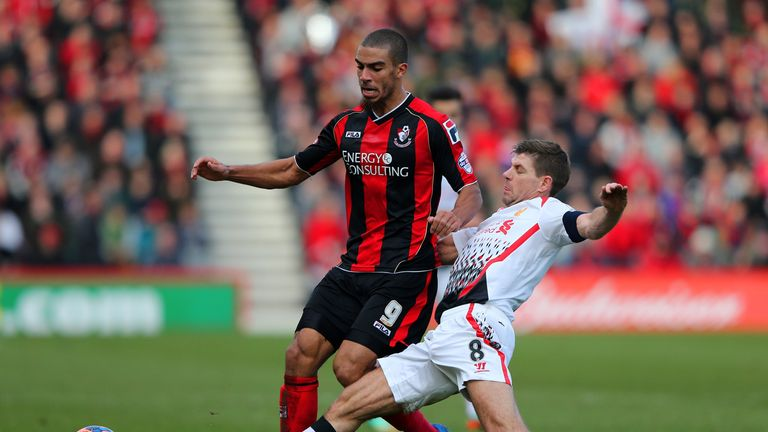 Lewis Grabban: Top-scorer at Bournemouth last season