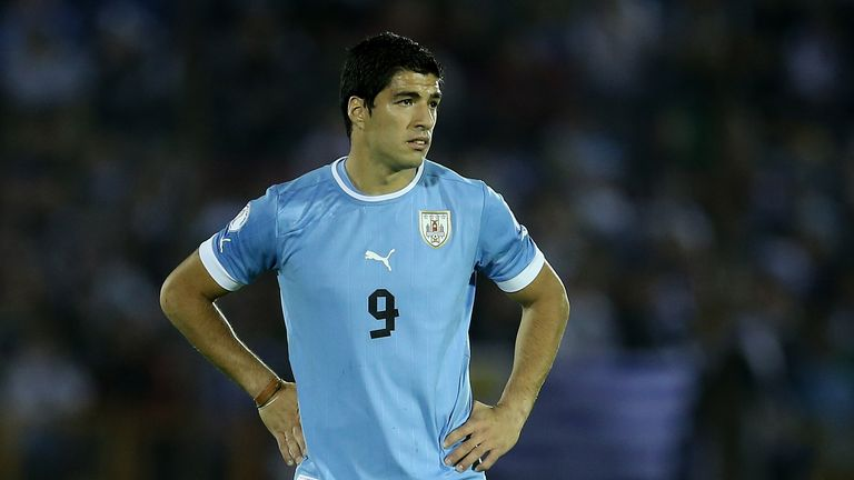 Luis Suarez: Returns for Uruguay against Engkand