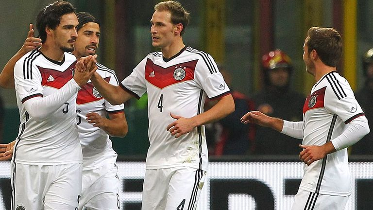 Germany: Expected to challengers in Brazil