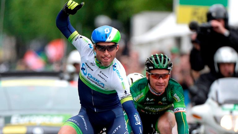 Michael Albasini sprinted to his third win of the race