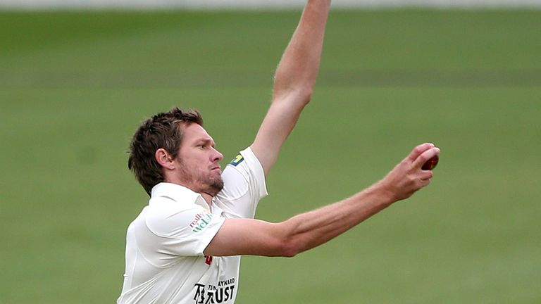 Michael Hogan: Took three wickets as Glamorgan almost claimed victory