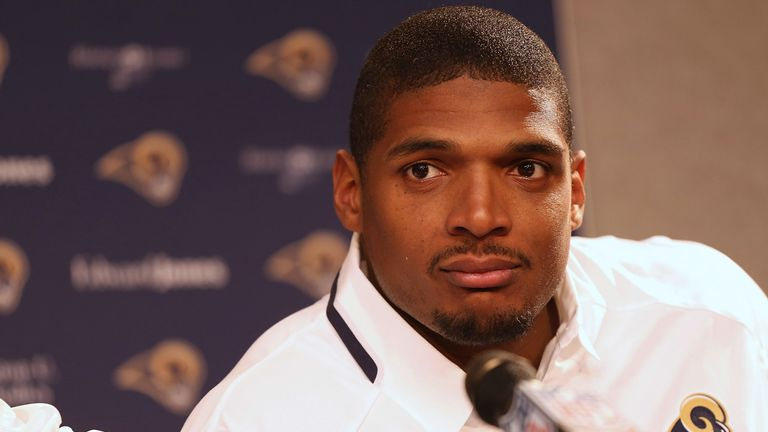 Michael Sam: No place on St Louis Rams' roster