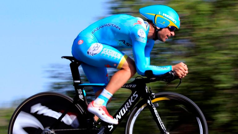 Michele Scarponi is a former winner of the Giro